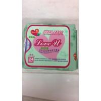 愛護妳草本植物精氣衛生護墊 24片(包)*30包
